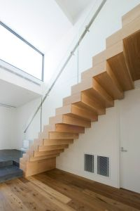 American Oak | Stained | Timber | Boxed Stair | Stainless ...