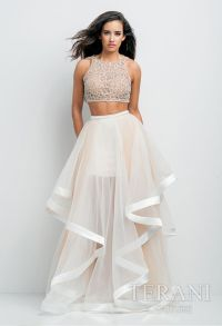 Evening Dresses, 2015 Prom Dresses, 2-piece prom dress ...