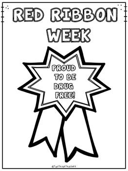 17 Best images about Red Ribbon Week Activities on