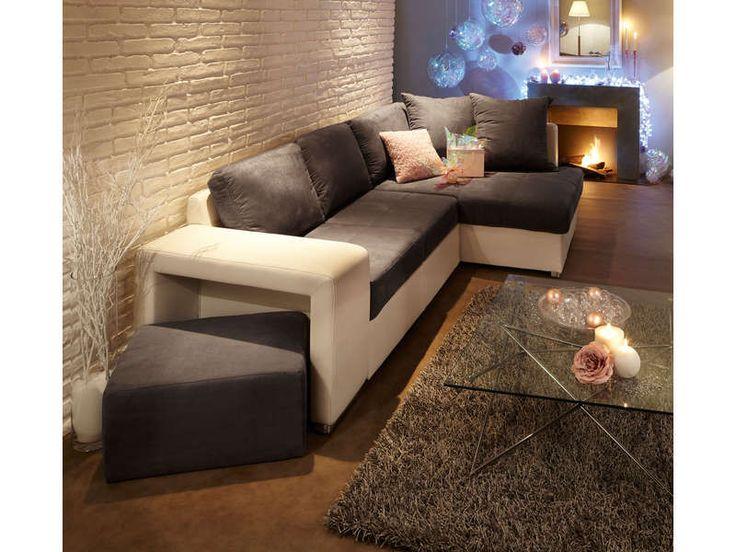 Pouf Blanc Conforama Maison Design