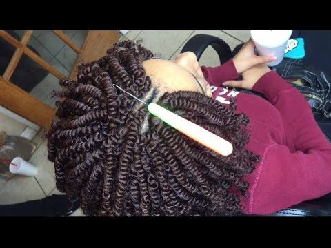 HOW TO TWIST SPRING TWIST THE RIGHT WAY RAWUNCUT  Hair