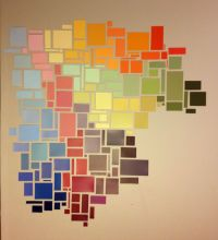 Best 25+ Paint chip art ideas on Pinterest
