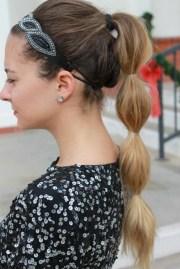 fancy ponytails