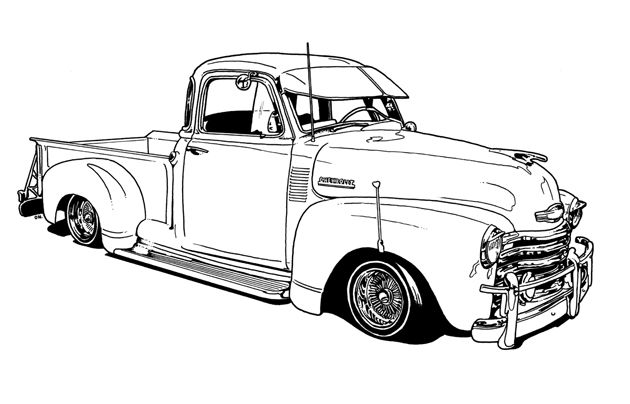 172 best images about lowrider and other cars to color on