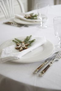 Best 25+ Christmas place setting ideas on Pinterest