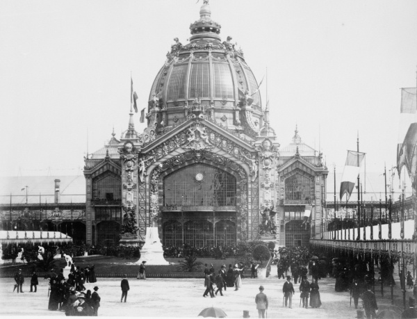 Fall In Paris Wallpaper 1889 Photo Central Dome Paris Exposition 1889 France