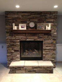 #fireplace #mantel #brick | mantels // | Pinterest ...