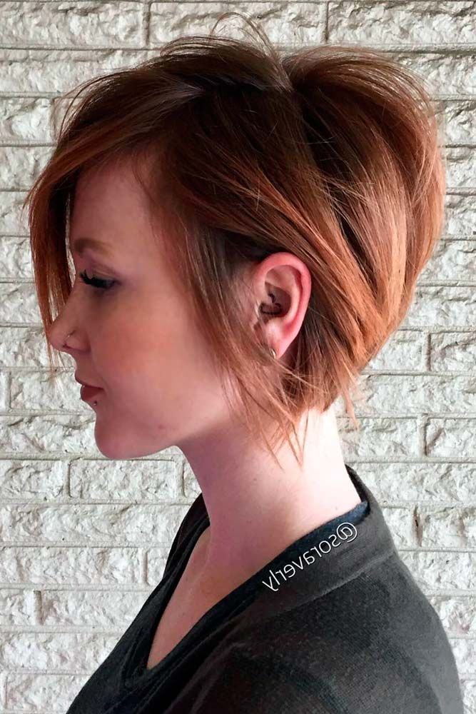25 Best Ideas About Stacked Bob Haircuts On Pinterest