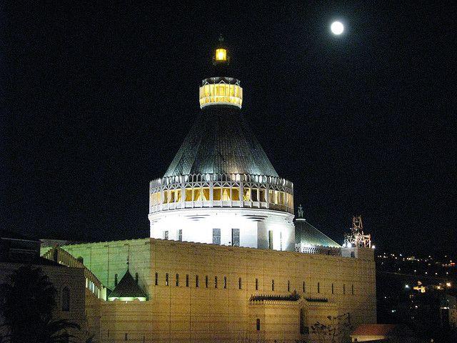 basilique de l'annonciation nazareth israel chemin de jésus