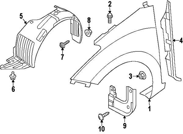 2014 Hyundai Elantra Rear Bumper Parts Diagram. Hyundai
