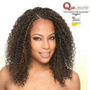 micro curly braids hairstyle