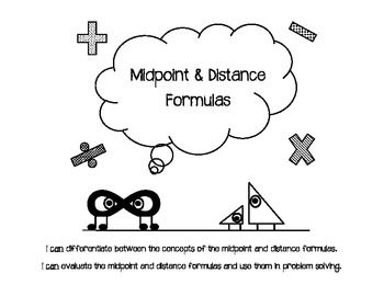 1000+ images about Midpoint and distance formula on