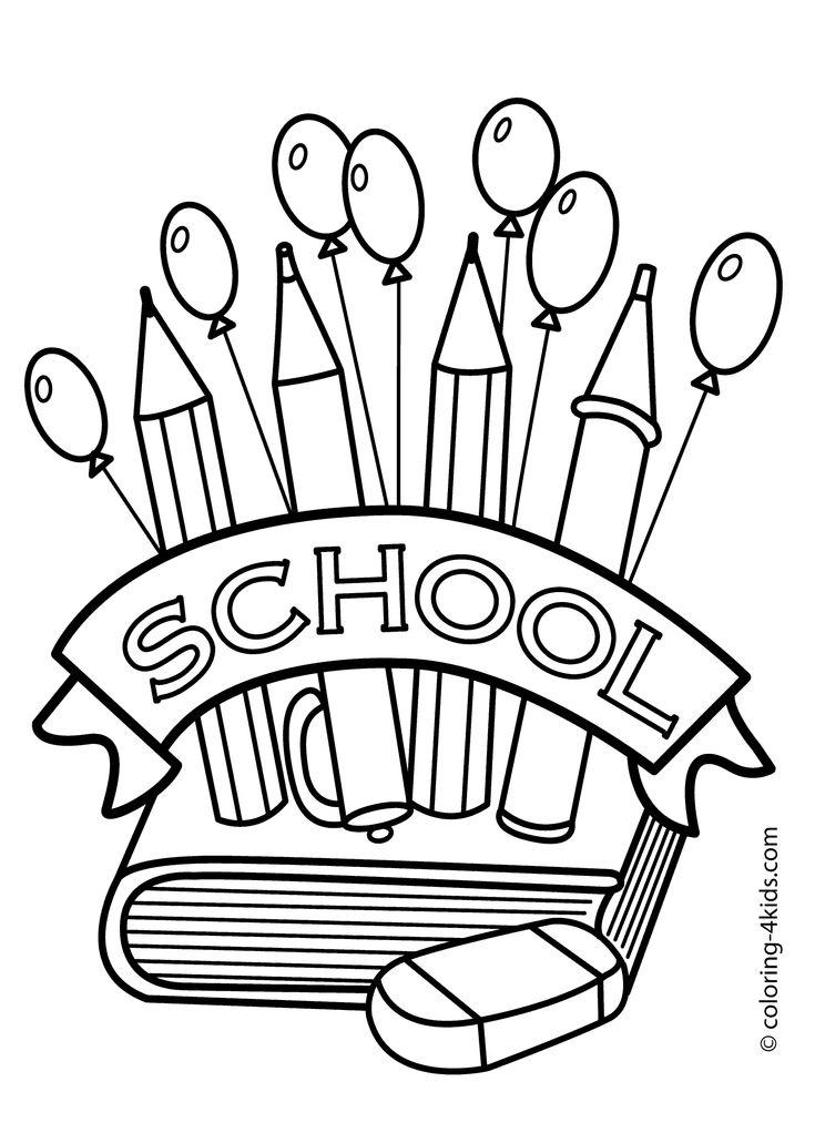 11 best images about Kindergarten registration-coloring