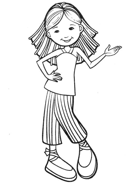 245 best images about coloring pages girles on Pinterest