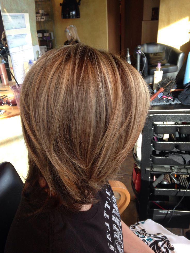 Dramatic highlight lowlight  Rachels hairstyle creations