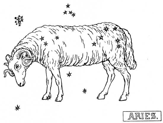 AstroSpirit / Aries ♈ from a children's book copyrighted