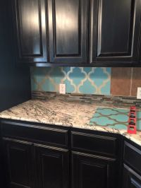 Peel and stick wallpaper for a backsplash | new house ...