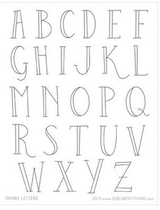 1000+ ideas about Embroidery Alphabet on Pinterest
