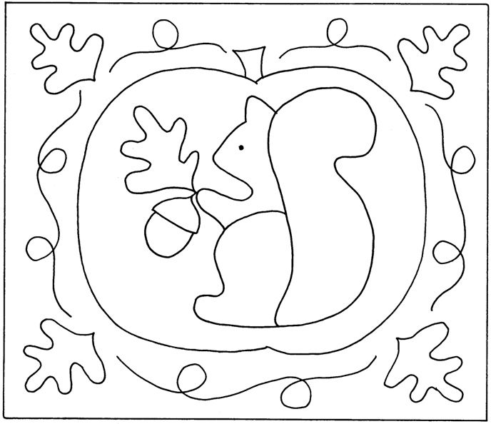 1000+ images about Acorns & Squirrels Embroidery Patterns