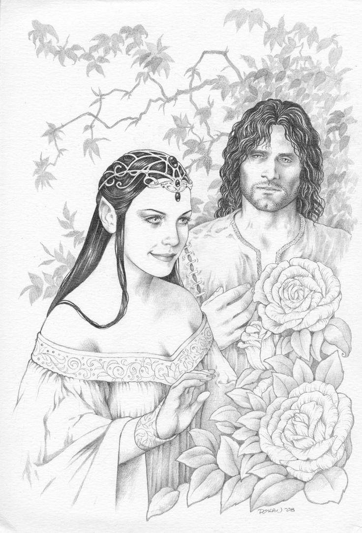 181 best images about Aragorn & Arwen on Pinterest