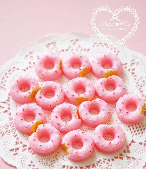 Mini Pink Doughnuts Good Idea For A Ballerina Treat