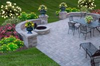 outdoor patio ideas with fire pit | Patio Pictures ...