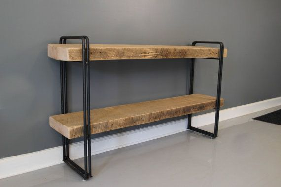 Reclaimed Barn Wood Urban Style 3 White Oak Shelf
