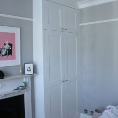 Living Room Shelving Units Staging Alcove Wardrobes With Picture Rail - Google Search ...