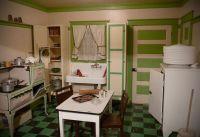 Farmhouse kitchen, 1920s/1930s.   Vintage Interiors ...