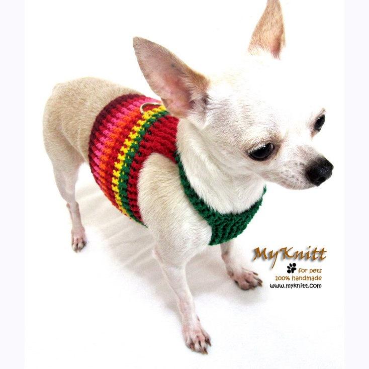 Miniature Chihuahua Crochet Dog Sweater Pattern