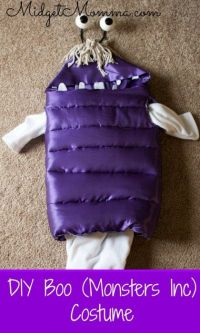 √ DIY Boo From Monster Inc Costume