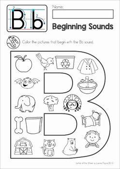 Best 20+ Beginning Sounds Kindergarten ideas on Pinterest