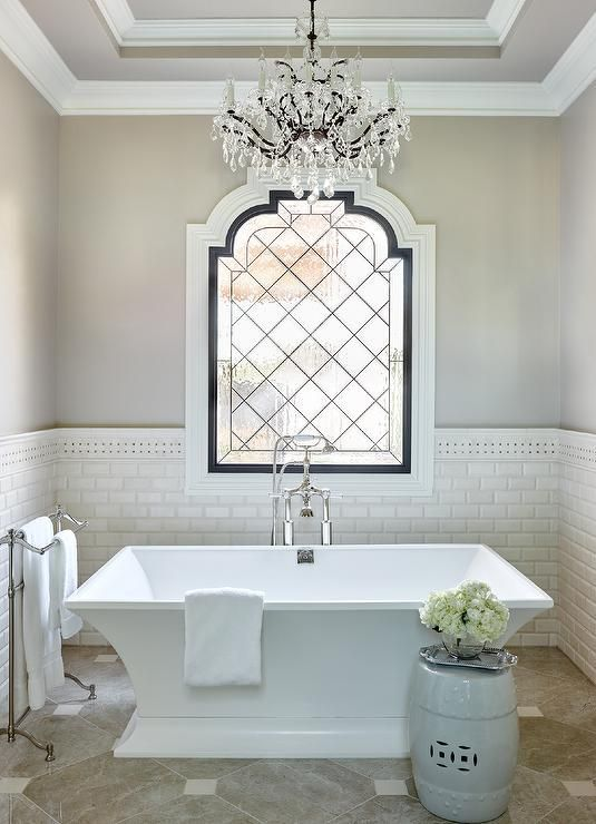 1000 ideas about Bathroom Chandelier on Pinterest  Chandeliers Bathroom and Bathroom Wall Lights