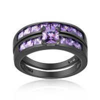 78+ ideas about Purple Wedding Rings on Pinterest | Purple ...