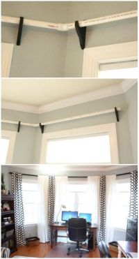 25+ best ideas about Corner curtains on Pinterest | Corner ...