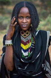 africa borana woman. yabelo