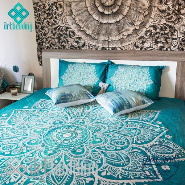 turquoise bohemian bedroom ideas Best 25+ Turquoise bedspread ideas on Pinterest | Blue bed covers, Turquoise bed and Boho chic