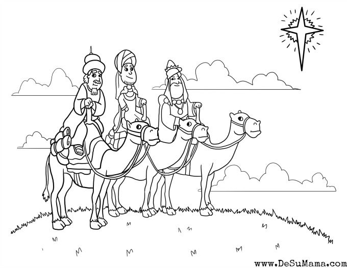 Three Kings Printable