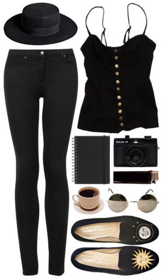 all black skinny jeans pant