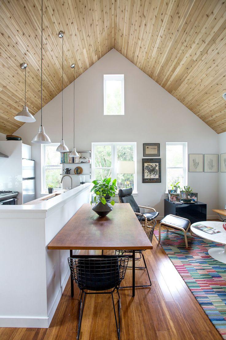 wood ceiling  Westport Garage  Pinterest  Ceilings Wood ceilings and Woods