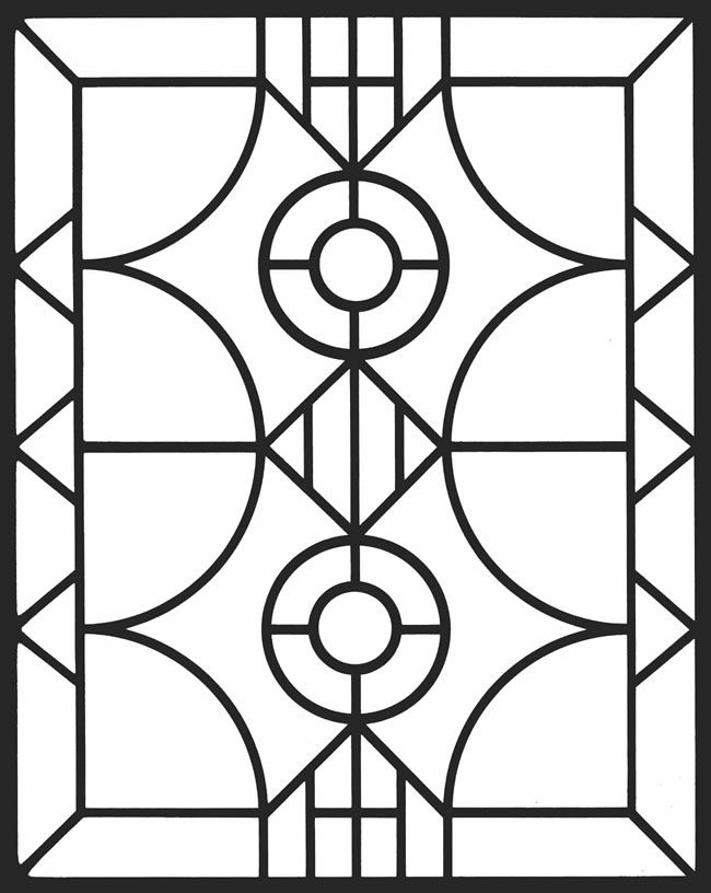 Welcome to Dover Publications Geometric Stained Glass