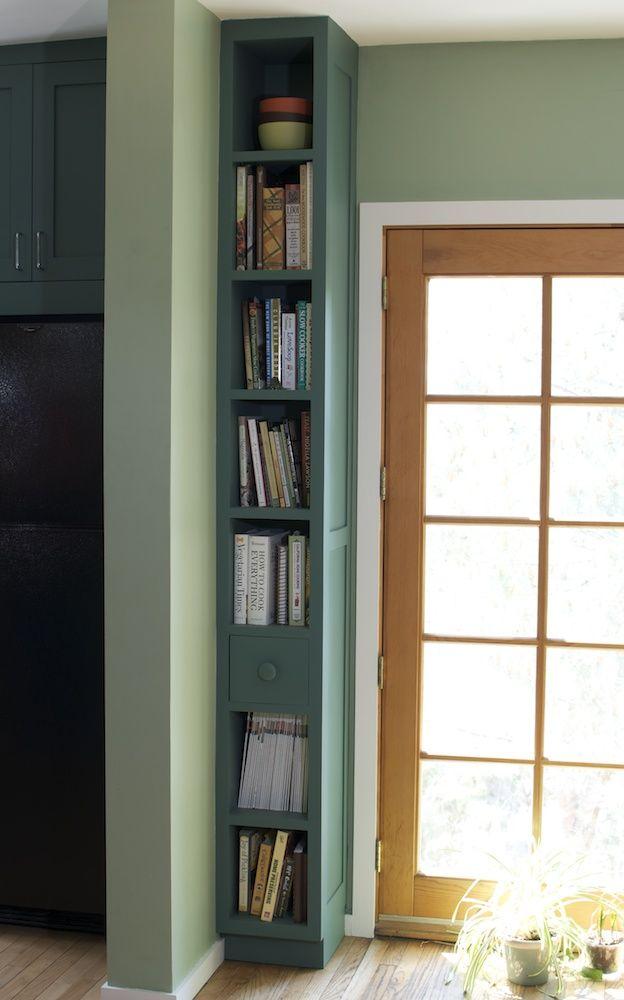 17 Best ideas about Skinny Bookshelf on Pinterest