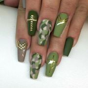 1000 ideas camouflage nails