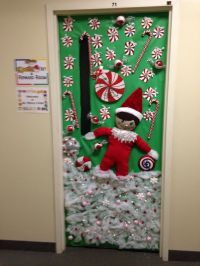 My sons (Orion's) VPK winter door this year. Decorated the ...