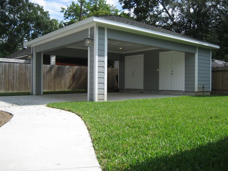 Remodel Houston Garage Carport Addition  ReCraft Homes  ReCraft Homes  Room garage