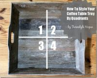 Easy Ways To Style A Coffee Table Tray - Quadrant Styling ...