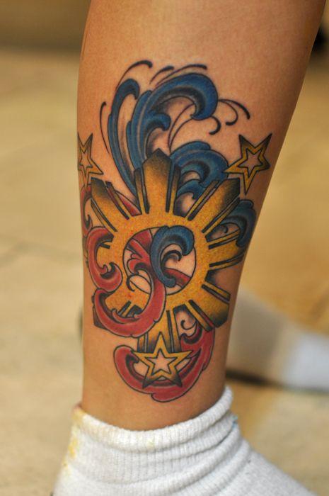Phil Flag Tattoo : tattoo, Filipino, Tattoo, Gallery, Collection