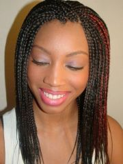 small crown row black hairstyles