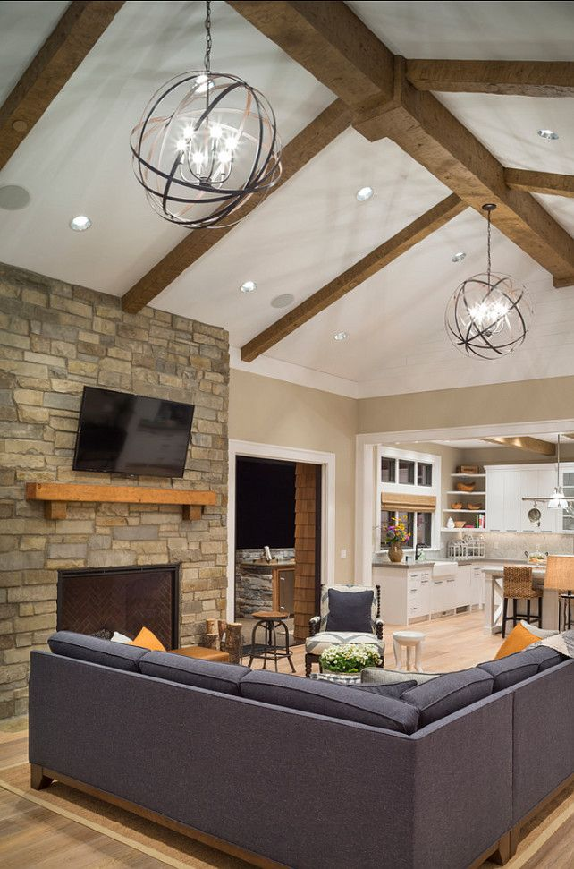 25+ best ideas about Vaulted Ceiling Lighting on Pinterest