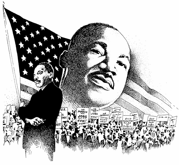 This honors Dr. King which would be great for the month of
